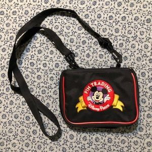 Disney parks pin trading bag
